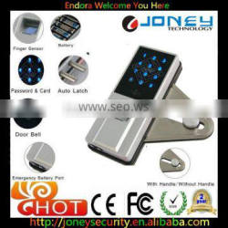 Alibaba Doorbell build in fingerprint lock for glassdoor remote control optional