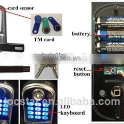TM 8015 zwave security lock