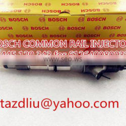 0445120343 Genuine Common rail injector 0 445 120 343 for WEICHAI 612640080031