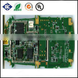 2 Number of Layers double side pcb purple green solder mask pcb pcba