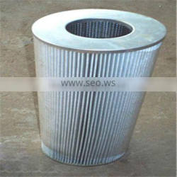 Stainless steel element filter, industrial filter element