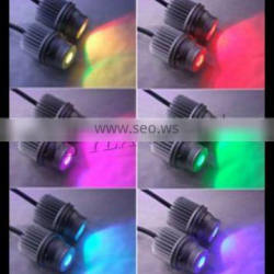 car headlight rgb color led angel eyes e39 remote controller color changing led marker for bmw e39
