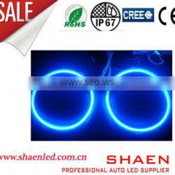 60mm-140mm cob led angel eyes, angel eye kits, led halo rings for universal cars