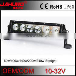 energy saving 60w 13.5inch super thin combo beam led light bar 10w leds for 4x4 truck car parts