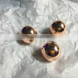 Die casting plating gold bead for Car phone holder OEM hardware
