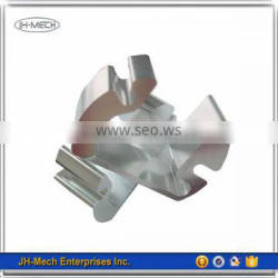 OEM and CNC machined non-regular aluminum extrusion heat sink