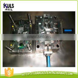 Aluminium extrusion corner protecting plastic cover injection mould