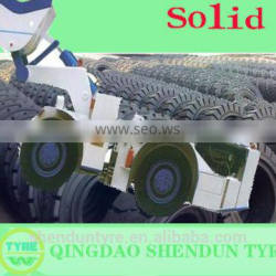 China Famous Forklift Solid Tire forklift tyres LUCKY FISH