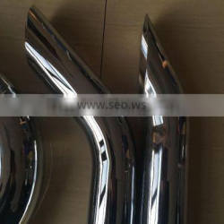 polished tips muffler silencer stack exhaust stack /low price paint polished tips /stainless high quality polished tips