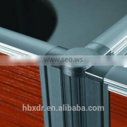 fast delivery !office partition aluminum profiles