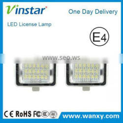 E4 LED Registration Lights for Mercedes LED License Plate Lamp Car Lights LED