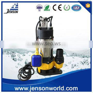 Jenson WQ Stainless steel top quality submersible sewage pump