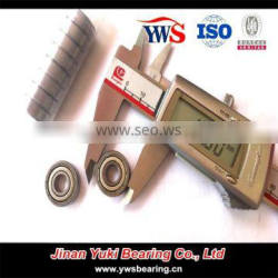 High limiting speed chorme steel or stainless steel 607 bearing 607zz Deep groove ball bearings