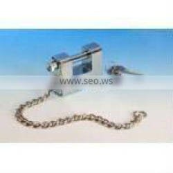 Heavy type Kaba Key with Steel Chain Amour Plated Rectangular Padlock