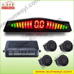sound switch control Led display car parking sensor kits