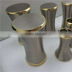 Stainless steel parts twocolor plating Double color electroplating Chrome & gold plating