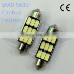 interior lamp festoon canbu led light 9 smd 5630 car reading light 12V white