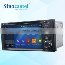 6.95 Inch 2 Din Android 5.1.1 Quad core Toyota Universal Car DVD Player with GPS Bluetooth Car DVD MP3 MP4 Player with USB SD Quality Choice