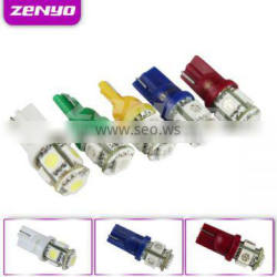 12V T10 automotive led lights