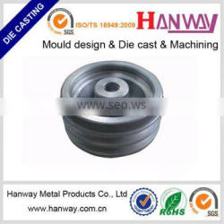 aluminum die casting cnc precision machining motorcycle parts flywheel