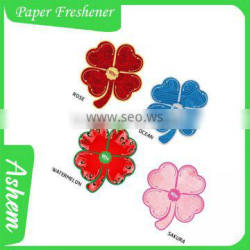 Gifts promotion fragrance paper air freshener, M-1025 Supplier's Choice
