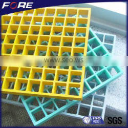 China manufacturing fire resistant Plastic walkway grid