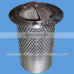 stainless steel basket strainer oil filters