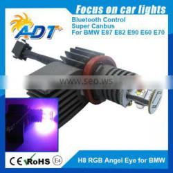 Super Canbus No Error for BMW E92/ H8 20W LED RGB Angel Eye kit