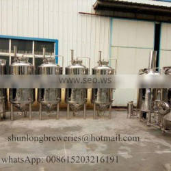 500 gallon brewery equipment 500l 700l 800l per batch beer brewing equipment