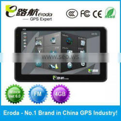 6 Inch Eroda Portable Car GPS Navigation A5 Solution