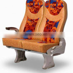 controllable gas strut for bus seat