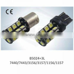 LED Light Brake Lamp New T20 S25 7440 7443 3156 3157 1156 1157 27SMD 5050 with CE