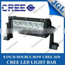"8"" 36W Cree LED Work Light Bar Lamp for Tractor Boat Off-Road 4WD 4x4 12v 24v Truck SUV ATV Spot Flood Super Bright"
