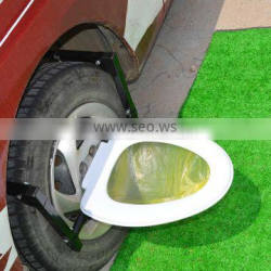 Portable Camp Toilet For Car and Tire Step
