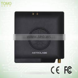 Astrolabe 301gps car tracker wireless with 2 GPS antenna, 1 built-in GSM antenna