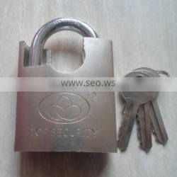 shackle half protected pin tumbler padlock