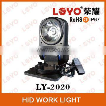 With Remote 35W/55W hid xenon work light Hid distributor Truck hid fog light Hid flood light