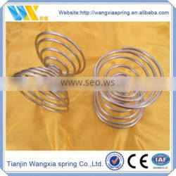 Two head smooth compression spring tower coil spring toy