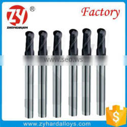 Long Shank Soild Carbide Ball Nose End Mill cutter