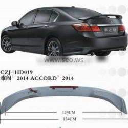 ABS REAR SPOILER FOR ACCORD 2014