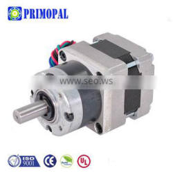 51mm dc 0.4A helic 1:369 planetary small 8N.cm metal sleeve Bearing micro nema 16 stepper gear motor with gearbox for instrument