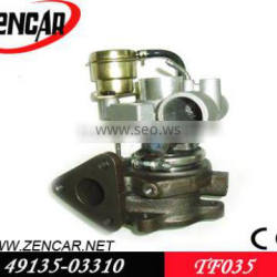 4M40 turbo Mitsubishi Pajero turbo TF035 ME202966