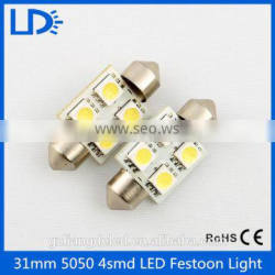 High quality high brightness festoon light led 5050smd bulb
