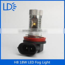 2016 hot sale Auto Led Fog Light 18W H8 fog lamp for daewoo lanos