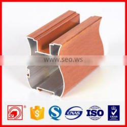 6060 6063 T5 Aluminium extrusion profile sliding wardrobe door
