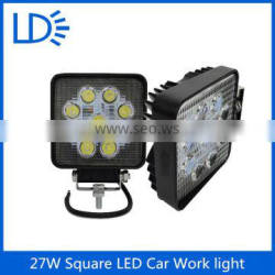 High power auto led work light lamp 27w for jeep