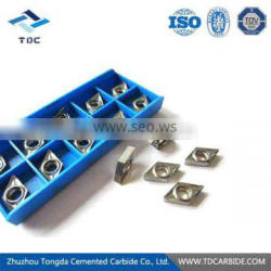 Special tungsten carbide indexable carbide inserts customized in zhuzhou