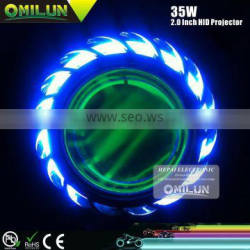 35W BI-Xenon auto light with Single CCFL Angel ring