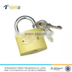 brass planted padlock long shackle or short shackle