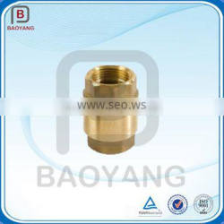 High quality Brass Spring Check Valve,precision casting